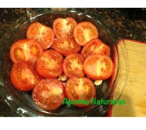 Tomates en pyrex 1