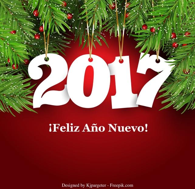 ¡Feliz Año Nuevo 2017!